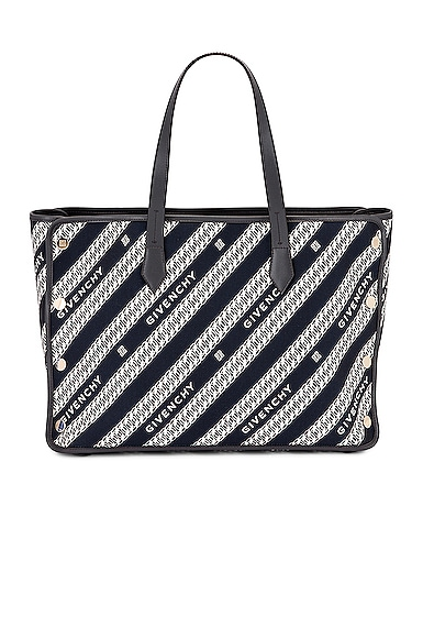 Medium Bond Chain Jacquard Tote