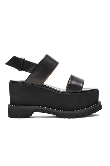 Leather Ursa Flatform Sandals