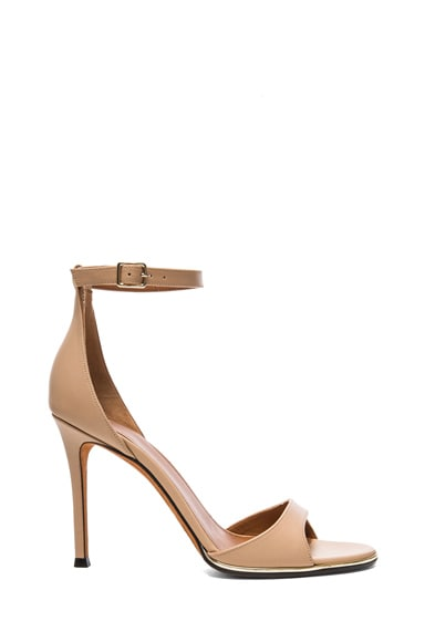Giuliana Calfskin Leather Heels
