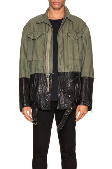 50/50 M51 Leather Jacket
