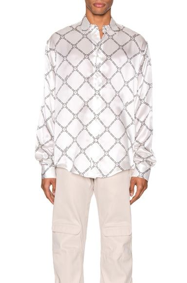 Geometric Digital Print Shirt