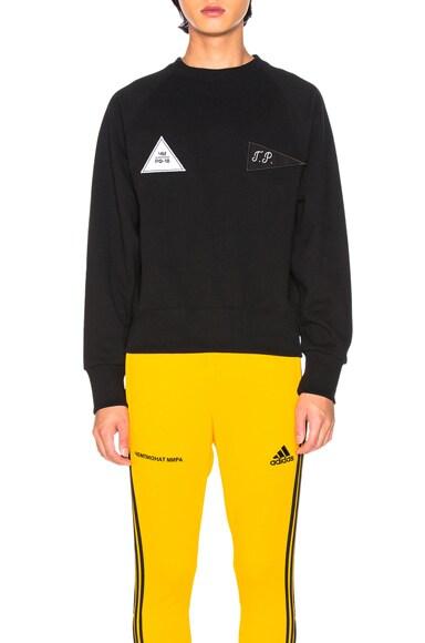 Velcro Detail Sweatshirt