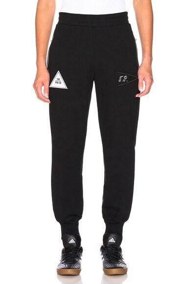 Velcro Detail Sweatpants