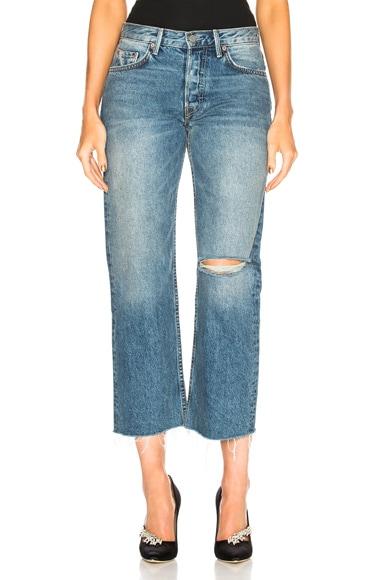 Maran Mid Rise Wide Leg Crop