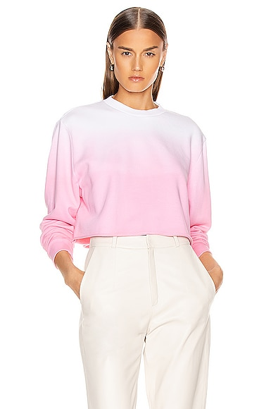 Tommie Cropped Crewneck