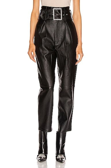 Beatrice High Waist Leather Pant