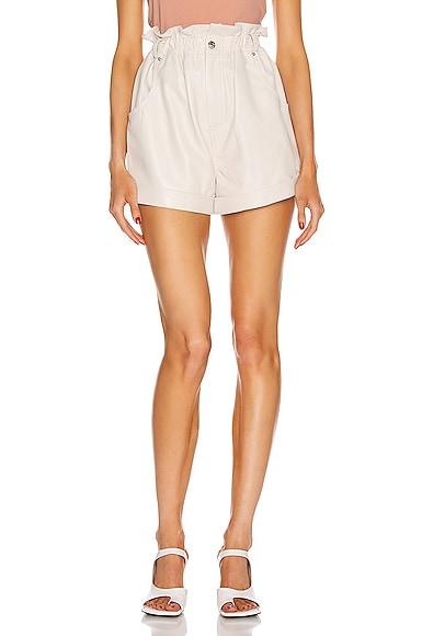 Shea Leather Shorts