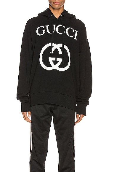 Hooded Sweatshirt With Interlocking G