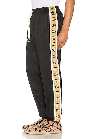 Loose Technical Jersey Jogging Pant