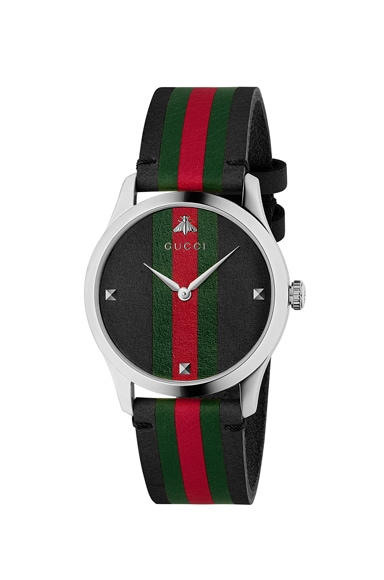 38MM G-Timeless Striped Band Watch