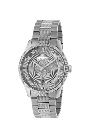 40MM Automatic Etched Face Watch