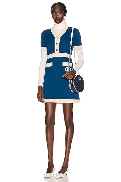 Short Sleeve Tennis Mini Dress