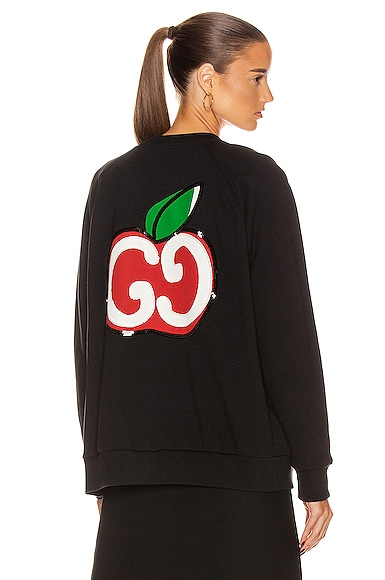 Apples Long Sleeve Sweater