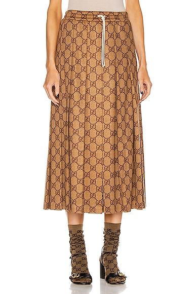 GG Midi Skirt
