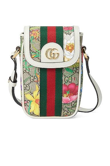 Ophidia Supreme GG Flora Chain Bag