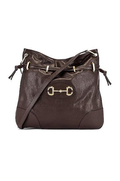 1955 Horsebit Shoulder Bag