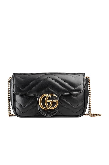 GG Marmont Super Mini Chain Shoulder Bag