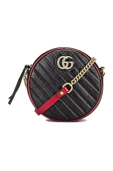 GG Marmont 2.0 Round Shoulder Bag