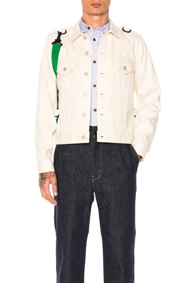 Cotton Selvedge Denim Jacket