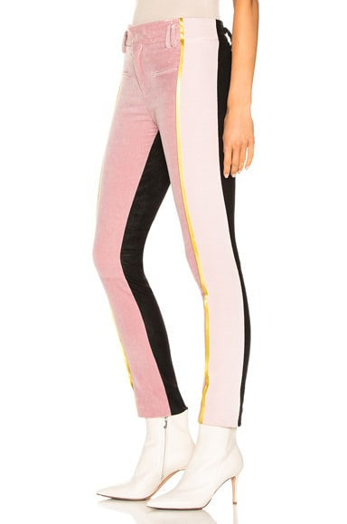 Side Stripe Two Tone Trousers