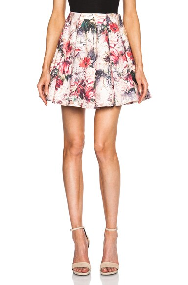 Printed Flirty Skirt