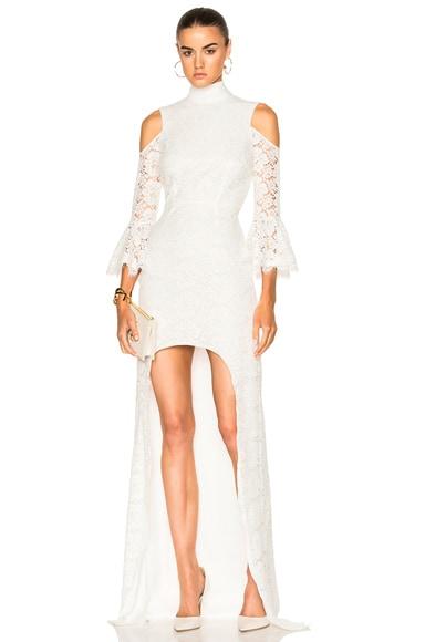 Ashton Guipure Lace Hi Low Gown