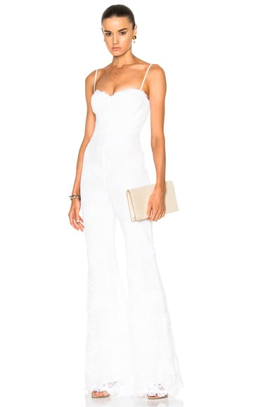 Bianca Wide Leg Fitted Jumpsuit