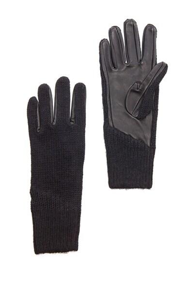 Linear Transfer Acrylic-Blend & Leather Glove