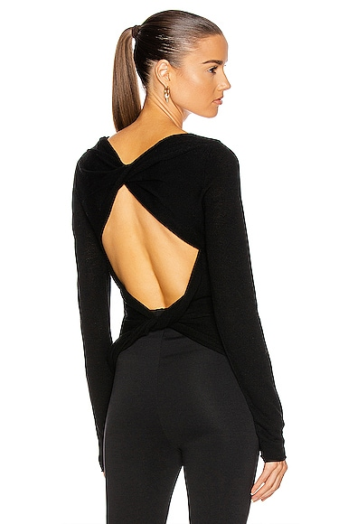 Helmut Lang TWIST CREW SWEATER