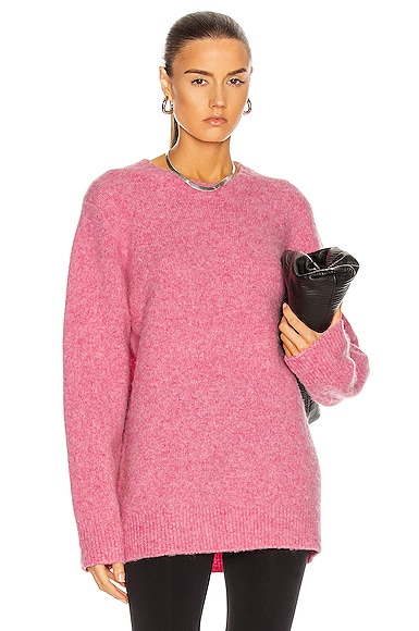 Helmut Lang Sweaters BRUSHED CREW SWEATER