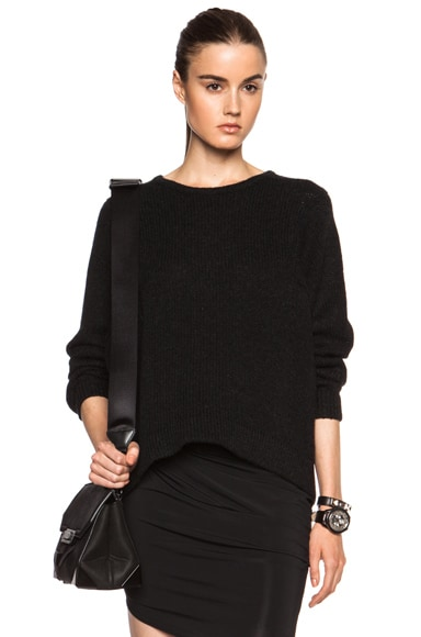 Lofty Wool Felt Pullover