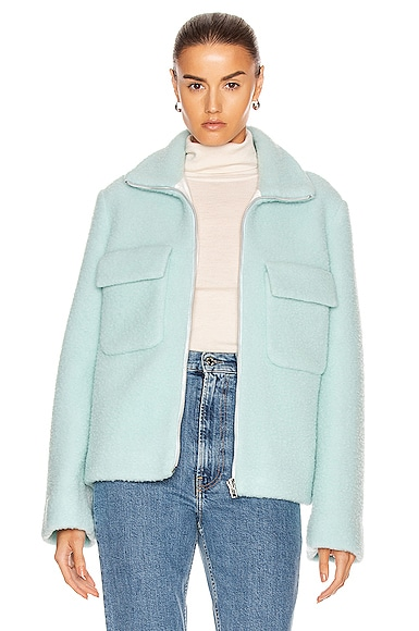 Teddy Fur Bomber Jacket