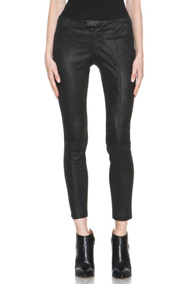 Patina Stretch Leather Pant
