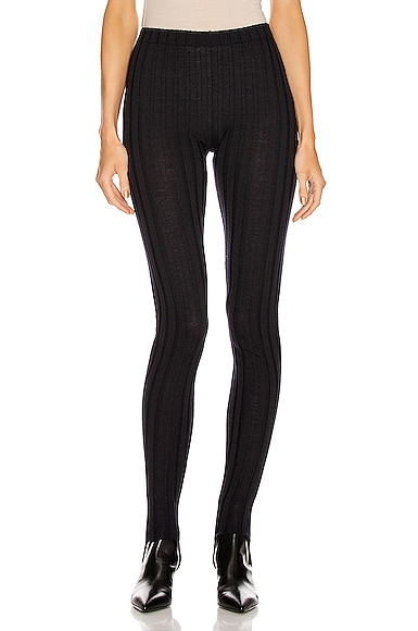 Stirrup Ribbed Legging