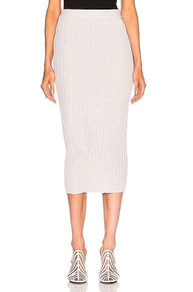 Double Waistband Skirt