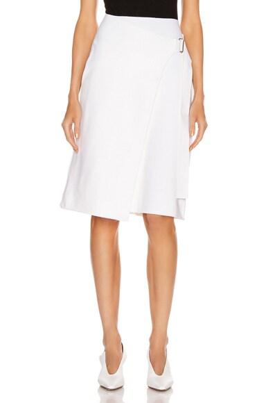 Compact Wool Skirt