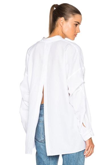Open Back Cotton Top
