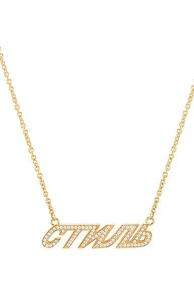 CTNMB Diamonds Necklace