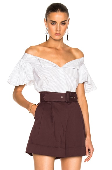 Frou Frou Sleeve Shirt