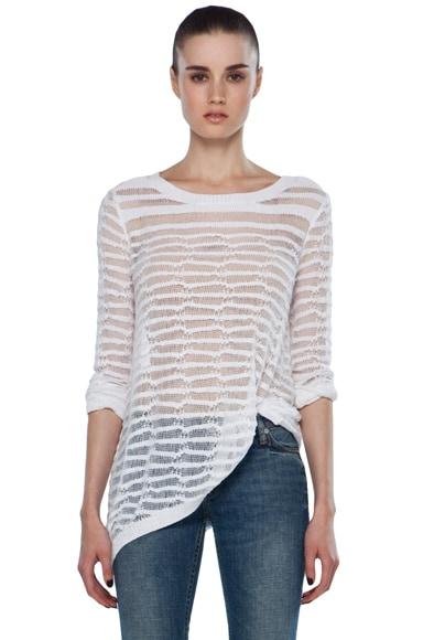 Long Sleeve Cotton Essentials V Neck