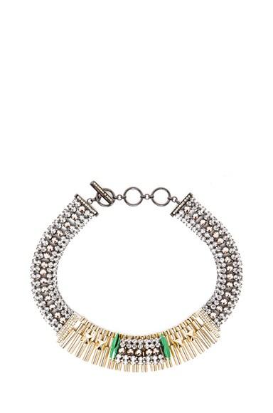 Rolex Chain Antique Brass Necklace