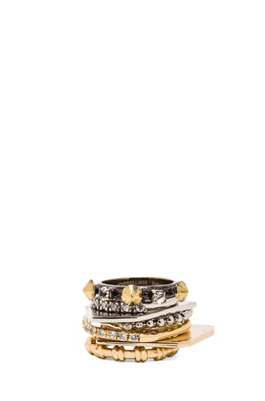 Plated Ring Set