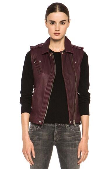 Mert Leather Vest