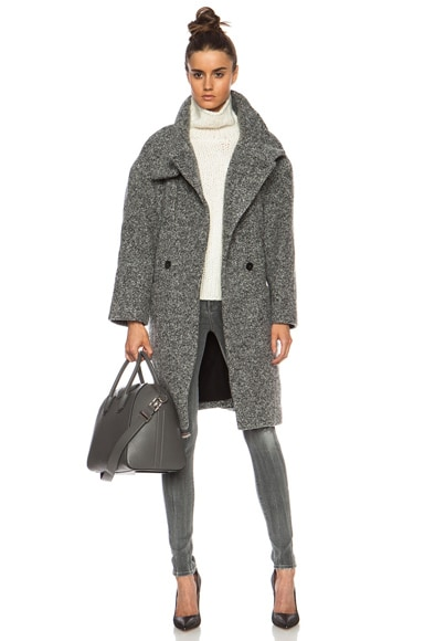 Aylina Wool-Blend Jacket