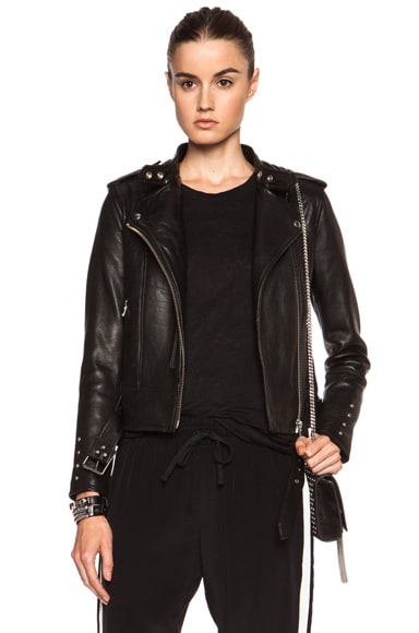 Zaki Leather Jacket
