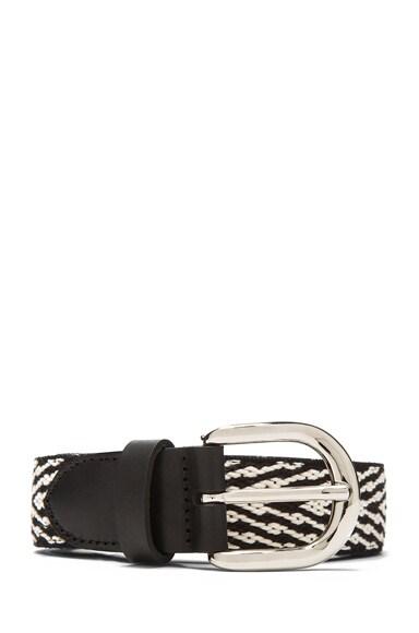 Uston Calfskin Leather Belt