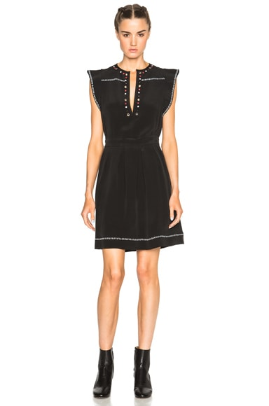 Fergie Eyelet Embroidery Dress