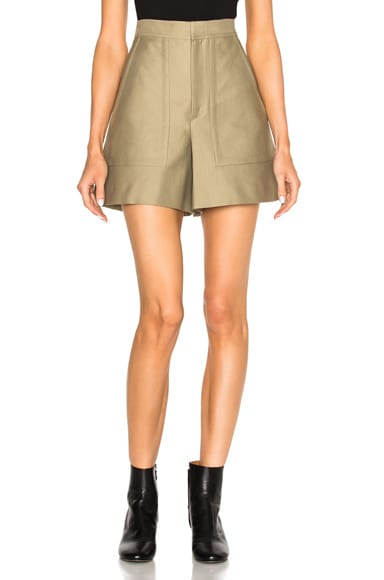 Satia Cotton Costard Shorts