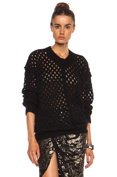 Tiana Lightning Knit Polyamide-Blend Sweater