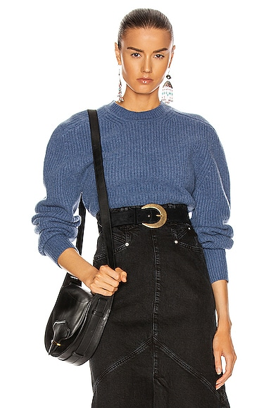Isabel Marant Brent Sweater In Blue